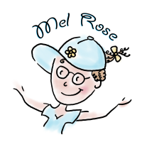Mel Rose Logo - Transparent